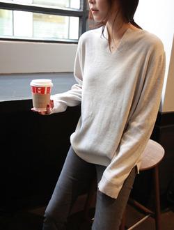 웰시슬릿 knit(4col)(울혼방)