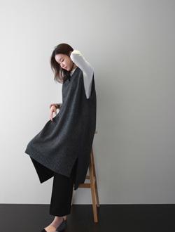 페로 베스트 knit(2col)(램스울)