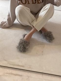 하울링 slipper(3col)(리얼양털)