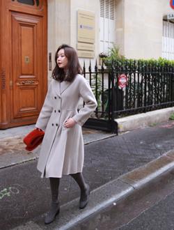 핀즈플레어 coat(2col)(핸드메이드)(울혼방)