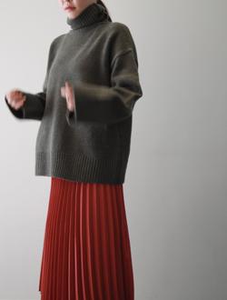 백슬릿폴라 knit(4col)